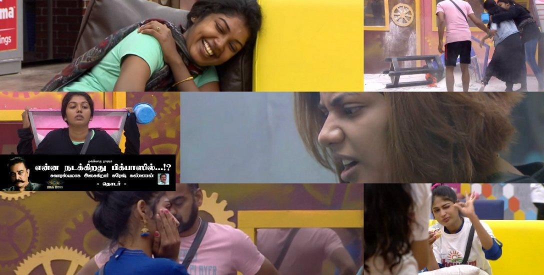 ஐஸ்வர்யா... யாஷிகாகிட்டதான் நீங்க உஷாரா இருக்கனும்! #BiggBossTamil2