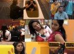 டெரர் வில்லன் சென்றாயன்... `பாய்' பியூட்டி ஐஸ்வர்யா! #BiggBossTamil2
