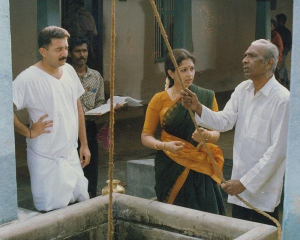 'சாசனம்' படப்பிடிப்பில் மகேந்திரன்