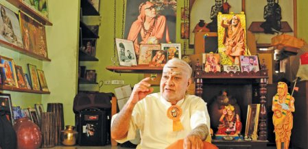 தந்தை சொல்லே மந்திரம்! - 'கடம்' விநாயகராம்