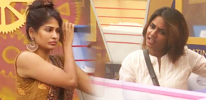 ரெளடி விஜி, போங்கு ஐஸ்வர்யா, காண்டு யாஷிகா... ரத்த யுத்தம்! #BiggBossTamil2