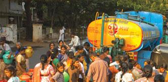 குடிநீர்ப் பஞ்ச அபாயத்தில் சென்னை!