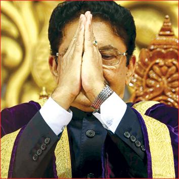 மிஸ்டர் கழுகு: உட்கட்சி விவகாரம் என்று நான் சொல்லவே இல்லை!