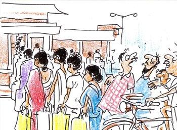 ரேஷன் ஜூனியர்: 'ஒத்தையா ரெட்டையா' போட்டு ஏழைகளைக் கணக்கெடுத்தார்கள்!