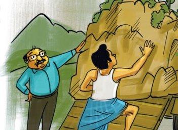 கடத்தல் ஜூனியர்: பொள்ளாச்சி பகீர்... மலைக்க வைக்கும் மலைக் கடத்தல்!