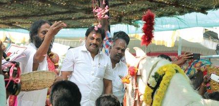 திராவிடக் கட்சிகளை வீழ்த்த... பி.ஜே.பி நடத்திய பிரமாண்ட யாகம்!