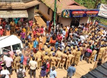 சபரிமலை சரண கோஷம்... கட்சிகளின் வேஷம்!