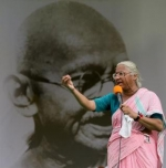 ஹஜாரே குழு கூட்டம்: மேதா பட்கர் புறக்கணிக்க முடிவு