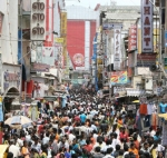 சென்னை - தி.நகரில் 61 கடைகளுக்கு சீல்வைப்பு