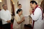 இலங்கைத் தமிழர்கள் தமிழீழம் கேட்கவில்லை:சுஷ்மா ஸ்வராஜ்