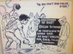 'இந்தி எதிர்ப்பு கார்ட்டூன் திராவிட இயக்கத்தை கொச்சைப்படுத்தவில்லை'
