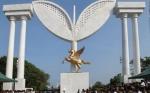 எம்.ஜி.ஆர். நினைவிடத்தில் இருப்பது இரட்டை இலை அல்ல: தமிழக அரசு விளக்கம்