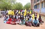 தேவர் ஜெயந்தி கலவரம்: பாதிக்கப்பட்டவர்கள் திடீர் போராட்டம்!