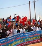 கூடங்குளம் அணுஉலை முற்றுகை: கொளத்தூர் மணி, 300 பேர் கைது (படங்கள்)