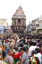 நெல்லையப்பர் கோவில் தேரோட்டம்; -பக்தர்கள் பரவசத்துடன் வடம் பிடித்தனர்
