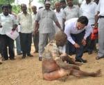 வேலூர் மாவட்ட ஆட்சியர் அலுவலகத்தில் முதியவர் தீக்குளிப்பு