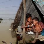 அசாமில் வெள்ளப்பெருக்கு: நீரில் மிதக்கும் 11 மாவட்டங்கள்