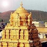 திருப்பதி கோயிலில் ஒரே மாதத்தில் 123 கிலோ தங்கம் காணிக்கை