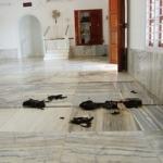 ராமநாதபுரம் பள்ளிவாசலுக்கு மர்ம நபர்கள் தீ