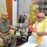 கருணாநிதியுடன் சோ ராமசாமி சந்திப்பு!