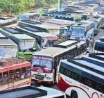 சிறப்பு பேருந்துகளால் சென்னை கோயம்பேட்டில் போக்குவரத்து நெரிசல்!
