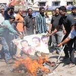 காங்கிரசாருடன் மோதல்: தமிழ் அமைப்பினர் 7 பேர் கைது!