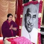 112வது பிறந்த நாள்: காமராஜர் சிலைக்கு ஜெயலலிதா உள்பட தலைவர்கள் மரியாதை!