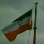 டெல்லியில் தேசியக் கொடியை தலைகீழாக பறக்கவிட்ட மணிஷ் சிசோடியா!