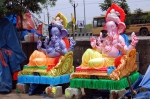 மதுரையில் வித விதமாக தயாராகும் விநாயகர் சிலைகள்.... - புகைப்படத் தொகுப்பு