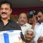 'தூய்மை இந்தியா' திட்டத்தை பிறந்தநாளில் தொடங்கினார் கமல்ஹாசன்!