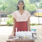 மாசு கணக்கீடு கருவியை கண்டுபிடித்து ராஜபாளையம் மாணவி சாதனை!