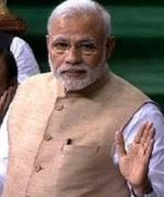 நாடாளுமன்ற கேண்டீனில் 29 ரூபாய் மதிய உணவு சாப்பிட்ட மோடி!