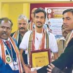 சிறந்த யோகா ஆசிரியர்:  தேசிய விருது பெற்ற தமிழக மாணவர்!
