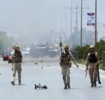 ஆப்கானிஸ்தான் நாடாளுமன்றத்தில் பயங்கரம்: தற்கொலைப்படை தாக்குதலில் 6 பேர் பலி
