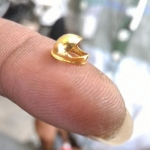 தங்கத்தில் 'மைக்ரோ ஹெல்மெட்': இளைஞரின் வித்தியாச விழிப்பு உணர்வு முயற்சி!