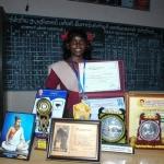 புத்தாக்க அறிவியல் புதுமை விருது:  அரசுப் பள்ளி மாணவியின் அசத்தல் சாதனை