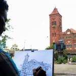 சென்னையின் பழமை வாய்ந்த கட்டிடங்கள் ஓவியங்களில் உயிர் பெறுகின்றன
