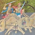 மருதுபாண்டியர் பெயர் பலகைக்கு செருப்பு மாலை: அருப்புக்கோட்டை அருகே பதட்டம்!