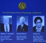 2015 ஆம் ஆண்டு மருத்துவத்திற்கான நோபல் பரிசு அறிவிப்பு!