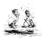 கனமழை பாதிப்பு:  மனிதநேயத்திற்கு நன்றி சொல்லும் தூரிகை!