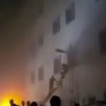 சவூதி மருத்துவமனையில் பயங்கர தீ விபத்து: 25 பேர் பலி (பதற வைக்கும் வீடியோ)