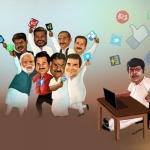 ஹேஹேய்... நம்ம கவுண்டமணி ஆன்லைன் தேர்தல் நடத்துறாருங்க!