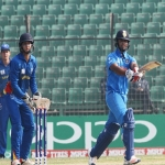 நமீபியாவை சுருட்டி கெத்தாக அரையிறுதியில் நுழைந்தது இந்தியா U-19 அணி!