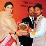 'முதல் பரிசுதான் முதல் தொடக்கம்'- பாலஸ்ரீ விருது வென்ற மாணவனின் அசத்தல் பேட்டி!