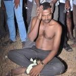 குடிபோதையில் விபத்து: காவலரை கட்டிப்போட்டு 'கவனித்த' பொதுமக்கள்
