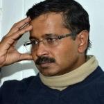 டெல்லி முதல்வர் கெஜ்ரிவால் மீது செருப்பு வீச்சு: ஒருவர் கைது!