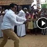 கம்பு சுற்றி வாக்குச் சேகரித்த சரத்குமார்:பரபர வீடியோ!