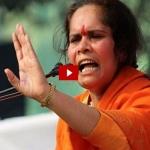 'இஸ்லாமியர்கள் இல்லாத இந்தியா!' -மீண்டும் சர்ச்சையில் சாத்வி ப்ராச்சி (வீடியோ)