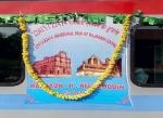 டிரைவர் இல்லாமல் 15  கி.மீ  ஓடிய ராஜ்தானி ரயில்