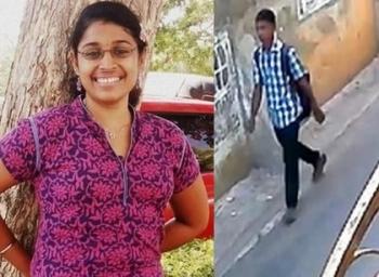 Swathi Murder verdict escaped in bike - A new twist in this case
